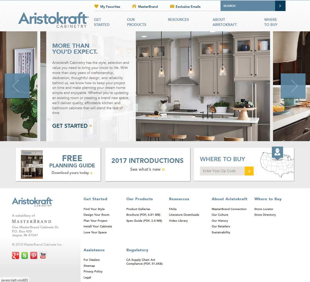 Aristokraft Cabinetry Reviews