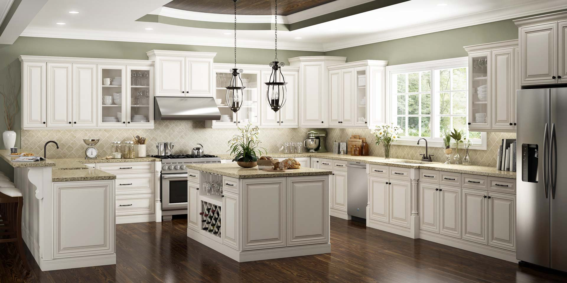 Kitchen cabinet manufacturers view all us rta custom and for Kitchen cabinets reviews