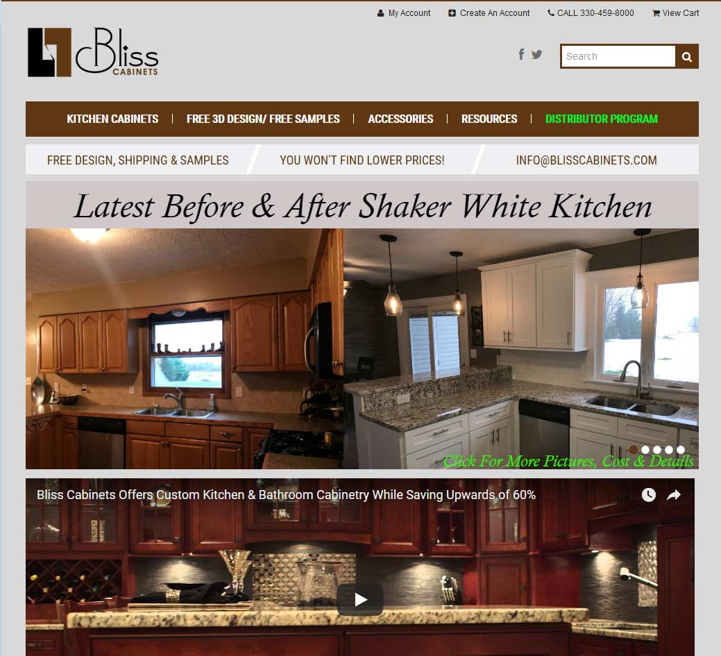 Bliss Cabinets Reviews