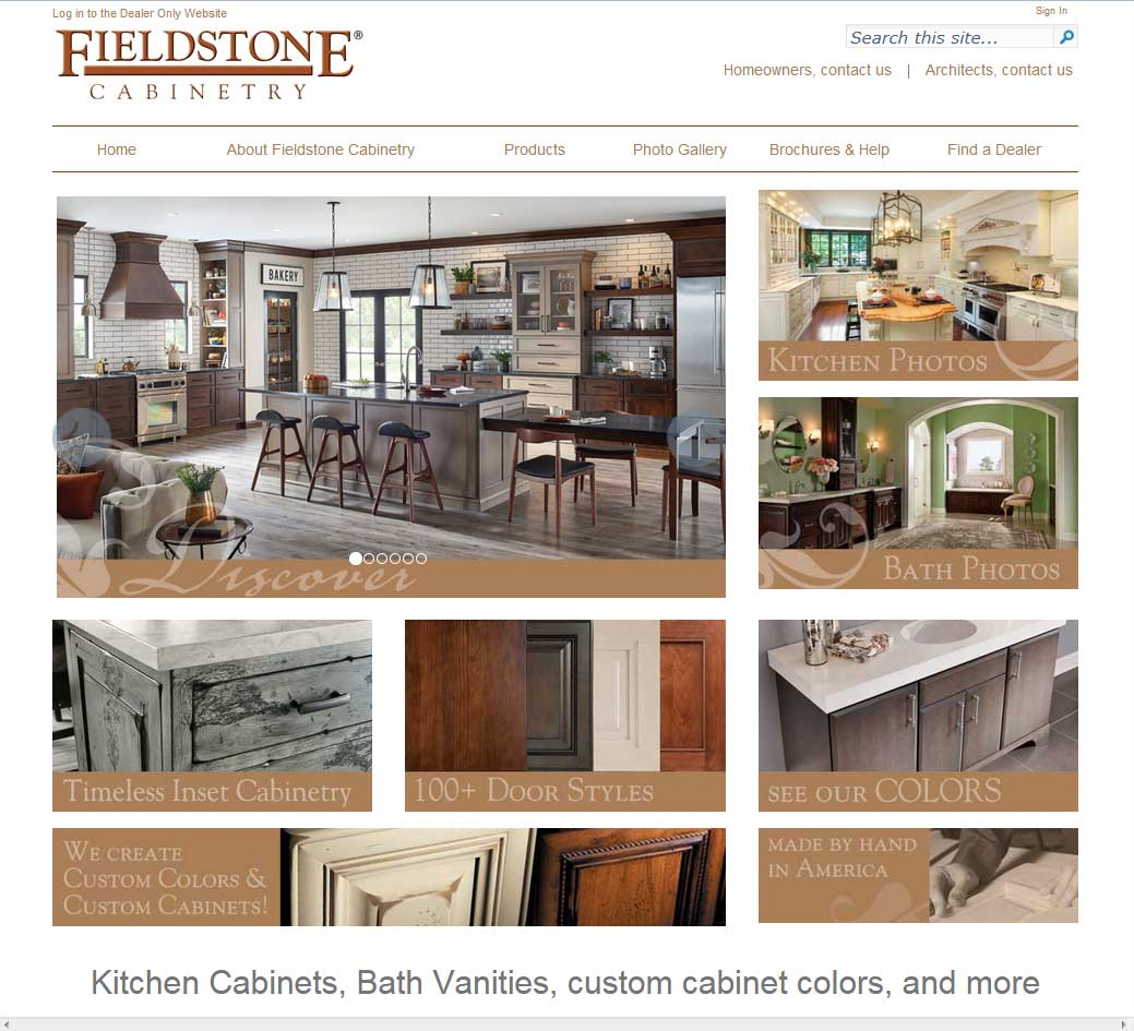 Fieldstone Cabinetry Reviews