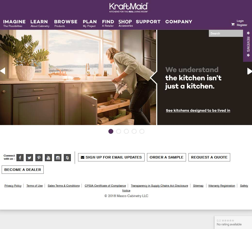 Kraftmaid Reviews Kraftmaid Cabinets Reviewed Rated By You